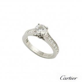 Cartier 1895 Diamond Ring in Platinum 0.71ct F/VS1 H4201348